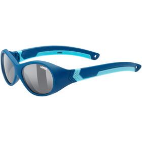 UVEX Sportstyle 510 Sportbrille Kinder darkblue/smoke